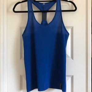 Blue Under Armour Racerback Tank with defect